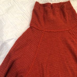 M - Free People Turtle Neck Body Suit